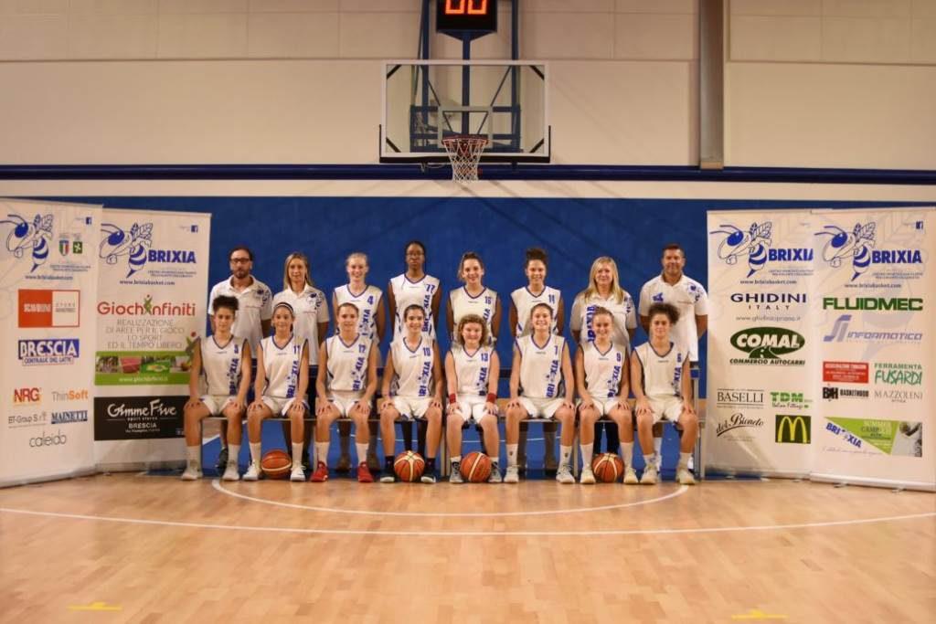 Brixia Basket under 16 giugno 2019