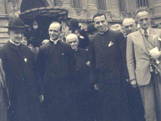 Budapest 1938 Montini e Bazzani Congresso Eucaristico