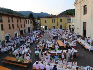 Fotogallery cena San Lorenzo in bianco luglio 2019