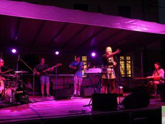 Fotogallery concerto Allysha Joy apertura Festival Jazz Road giugno 2019