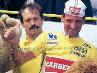 Guido Bontempi maglia gialla